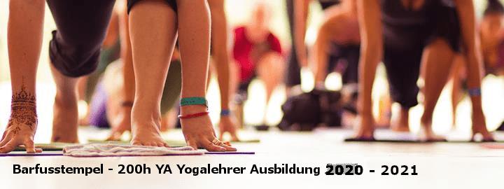 Yogalehrer Ausbildung +200h